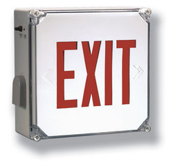 led exit signs hlx nema exit and emergency light from. Black Bedroom Furniture Sets. Home Design Ideas