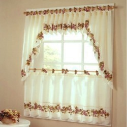 Kitchen And Tier Curtains-Chianti Tier