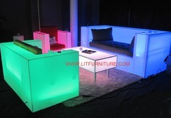 Acrylic Sofa/Illuminated Furniture/Glowing Furniture