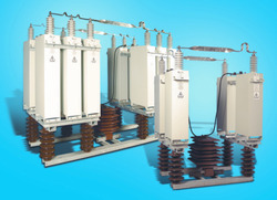 High Voltage Capacitor Bank