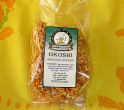 Hawaiian Ginger Okoshi-Puffed Rice Snack