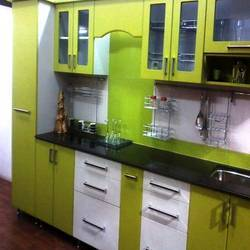 straight kitchen from shree kitchen pune manufacturer of modular furniture from india. Black Bedroom Furniture Sets. Home Design Ideas