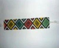 Flat Beaded Bracelet