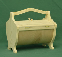 Bentwood Sewing Box