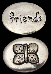 Butterfly - Friends Inspiration Coin