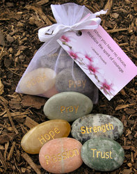 Marble Energy Stone Set - SPIRITUAL WORDS