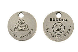 Buddha Blessing Coin Pocket Token
