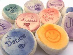 Ceramic Word Stones