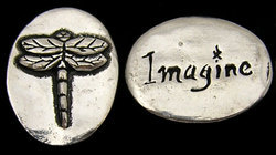 Custom Pewter Inspiration Coin - You Design