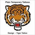 Tiger Temporary Tattoos