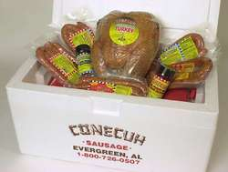 Conecuh-Hickory Smoked Turkey Assortment Gift Box