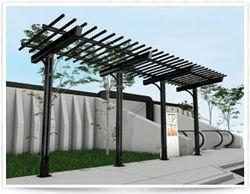 Shelters-Garden Gallery Pergolas-Series 9780 Boulevard