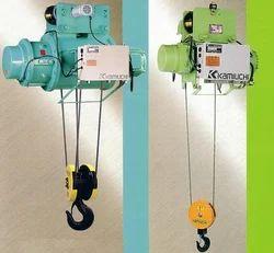 kamiuchi electric wire rope hoist