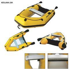 Keilana Clear Bottom Inflatable Boat