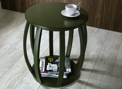 Bird Cage End Table