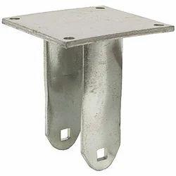 Steel Caster Yoke Rigid
