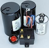 Capacitors And Relays