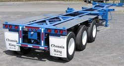 Foot Gooseneck Tri-Axle  Container