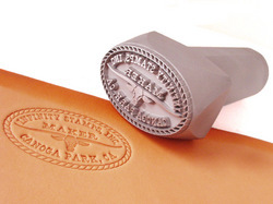 Custom Handheld Leather Stamp Manufacturer From Infinity