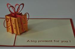 Handmade Pop Up Greeting Card