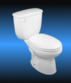 Two Piece Low Flow Toilet