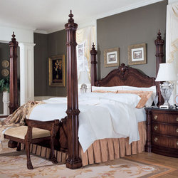 Avondale Poster Bed From Bernhardt Manufacturer Of Bedroom Beds From Usa