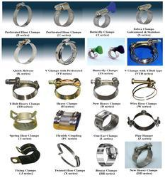 All Kind Of Hose Clamps