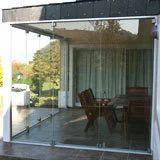 Aluminium Frameless Doors