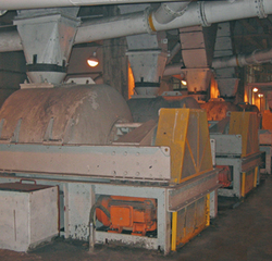 Vibratory Screen Coarse Coal Centrifuge Hsg Tema