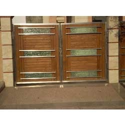 Fancy gate wooden mix from s f international manufacturer for International decor gates