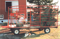 Bale Throw Wagon