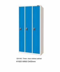 Шкаф 3 одежд стали двери (gd-043) - шкаф 3 одежд стали двери.