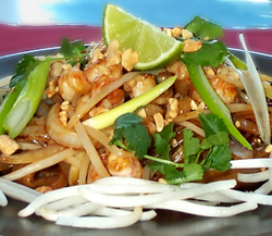 Pad Thai Shrimp and Rice Noodles