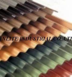 Fibreglass Reinforced Corrugated Roofing Plastic Sheet