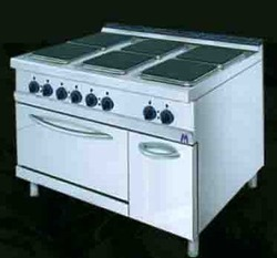 Electric Hot Plate With Oven