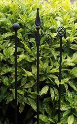Unique Decorative Iron Garden Stakes