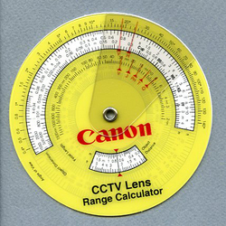 Cctv Lens Range Calculator