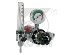 Flowmeter Regulator with Electrically Heated