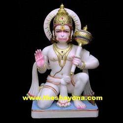 Blessing Marble Hanuman