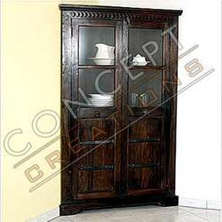 Wooden Glass Corner