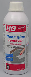 Floor tile glue remover