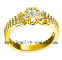 Jewelry Gold Ring Models