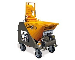Giotto Plastering Machine For Dry Ready-Mixed Plasters