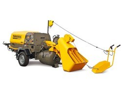 Transmat 27.45 Diesel-powered Screed Mixing