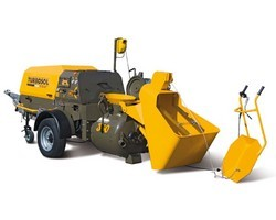Diesel-Powered Screed Mixing And Pumping Machine