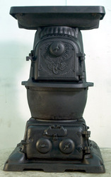 Antique Stoves (Pot Belly)