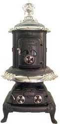 Over 500 Antique Stoves at Barnstable Stove, Antique Coal, Wood