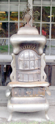 Antique Stoves (Coal Stove Fair Ringgold Base Burner)