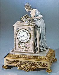 Lady And Clock