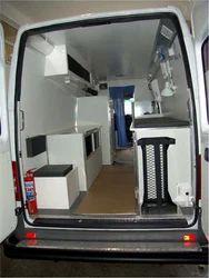 Interior View  Very Large Panelvan